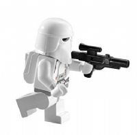 Lego Star Wars: Imperial Snowtrooper with Blaster & Backpack/Helmet- Minifigure